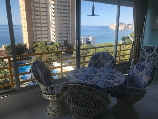 Apartment PROVIMA/ sea view & 200m to the beach