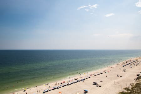 East corner gulf front 2 bed orange beach condo - Orange Beach