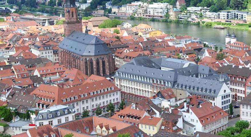 Nice appartment in the middle of beautiful oldtown - Heidelberg - Apartment