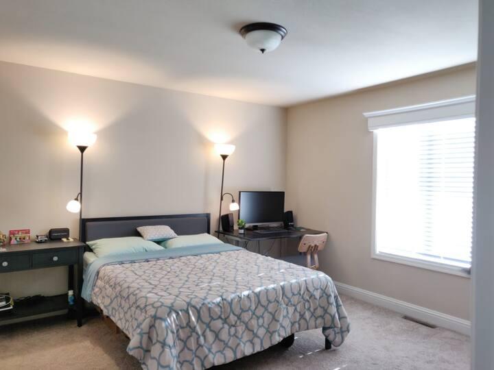 Cozy room next to Google!