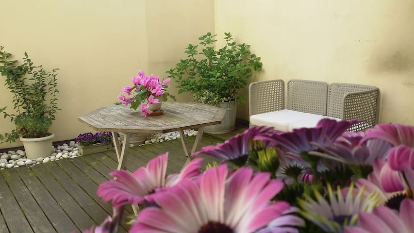 The garden in the heart of Cremona - Cremona - Apartment