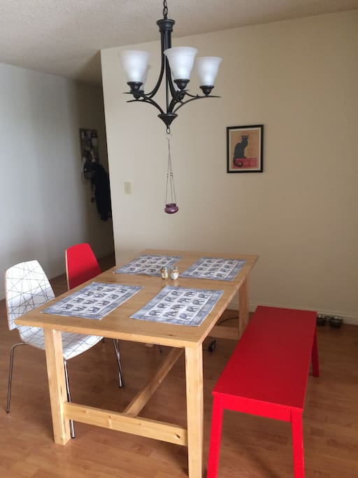 Our dining area!
