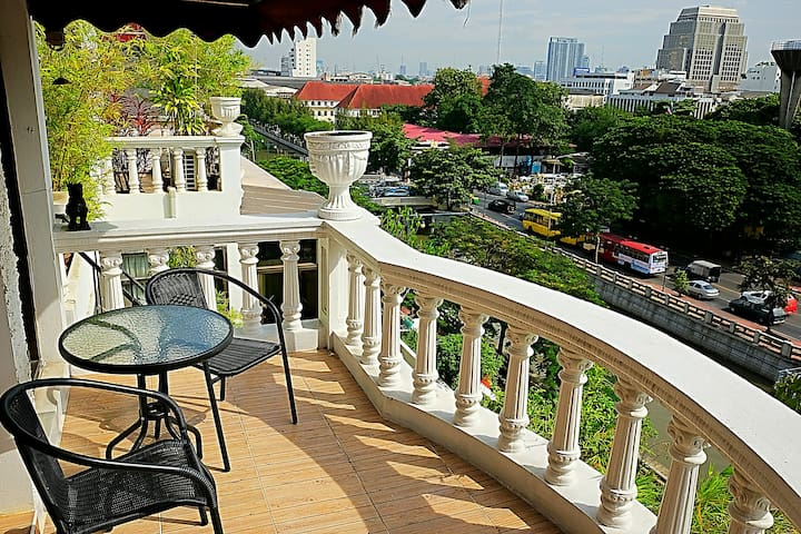 ✨Spacious 1BR near Siam/ChinaTown-10min walk MRT๓