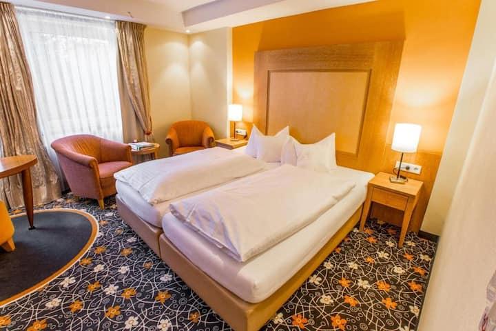 Romantik Hotel Platte, (Attendorn), Doppelzimmer Basic