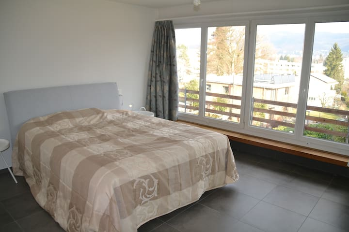 Spacious guest room in family home - Reinach - Casa