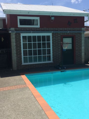 Pool House - Summer Fun - Whanganui - Apartment