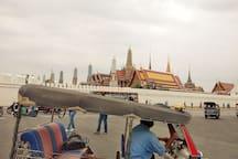 Tuk Tuk car. Bangkok Thailand