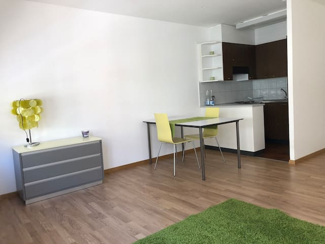 cozy 3 room apartment 5 min. walk from Messeplatz