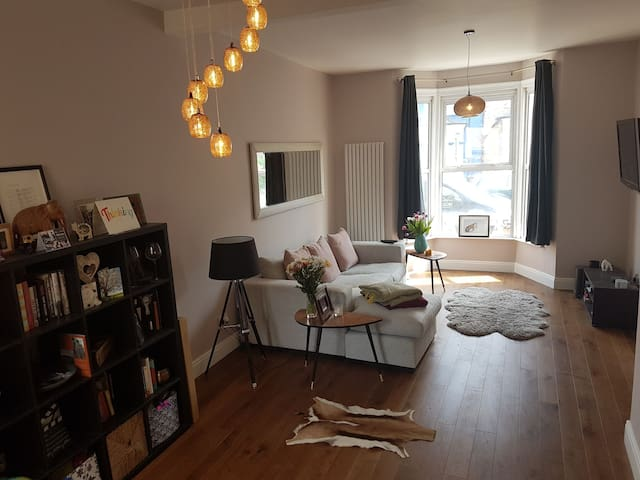 Bright double in Victorian house