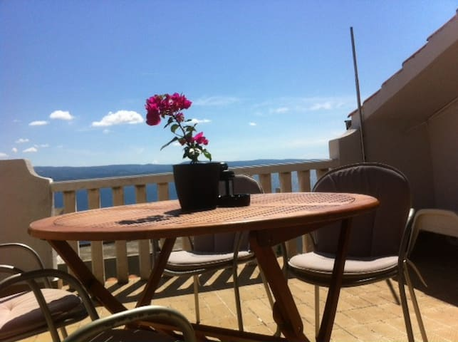 Private apartment with nice view - Stanići - Appartement