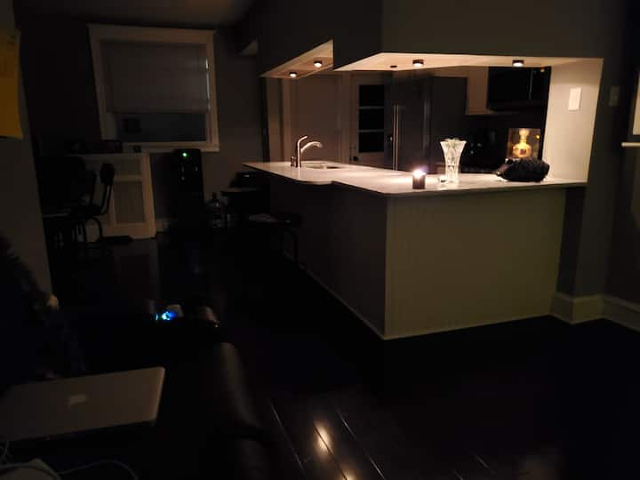 SAFE space in renovated house. All to yourself!