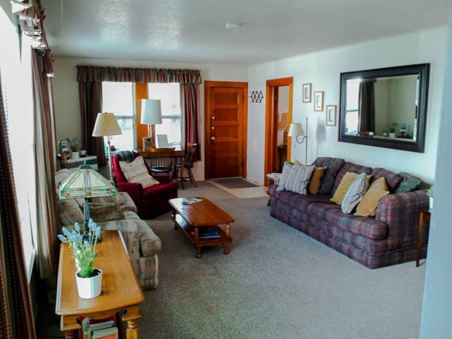 Flat 1-Living Area