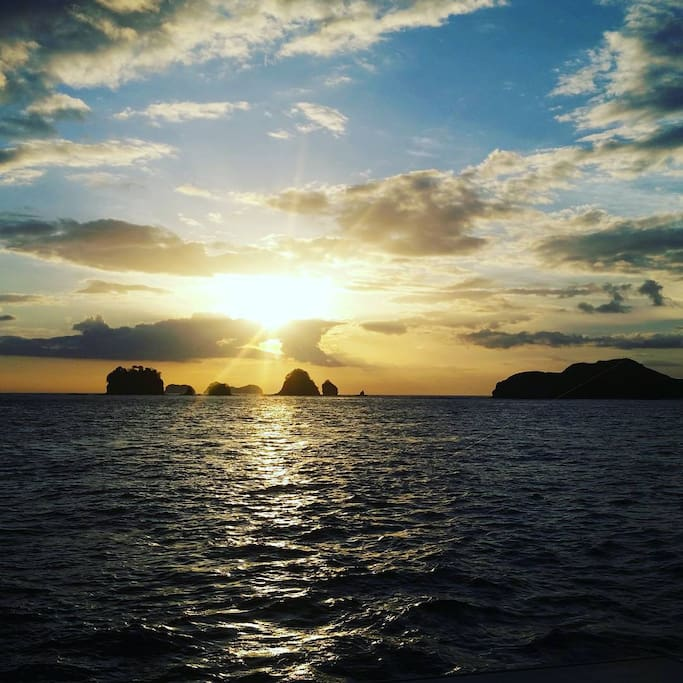 Taken from the Lazy Lizard Sunset and Snorkelling Catamaran Cruise.