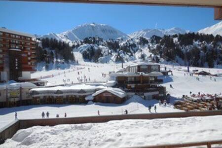 Stunning 50m2 flat in Plagne Centre. Ideal skiing! - Aime - Leilighet