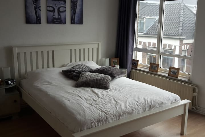 Centre of Voorschoten, clean and comfortable room - Voorschoten - Lägenhet
