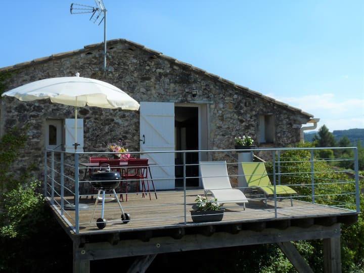 La Terrasse en Drôme provençale gîte 3 ETOILES