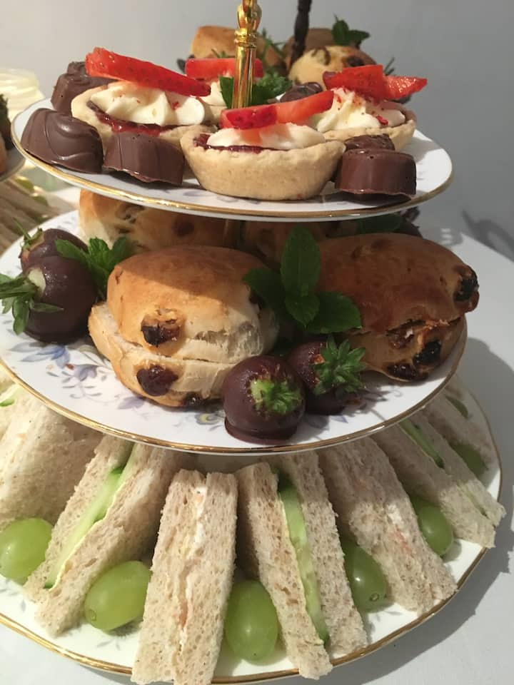 High tea & Prosecco add on options