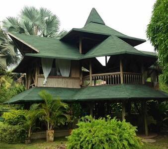 Juangui´s house. Bahia trigana