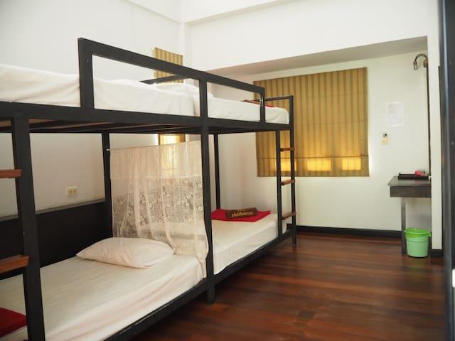 Cozy Private Quadruple room - 2 bunk beds