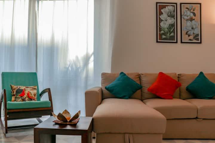 Casa Amor, Luxurious 2BHK near Candolim Beach