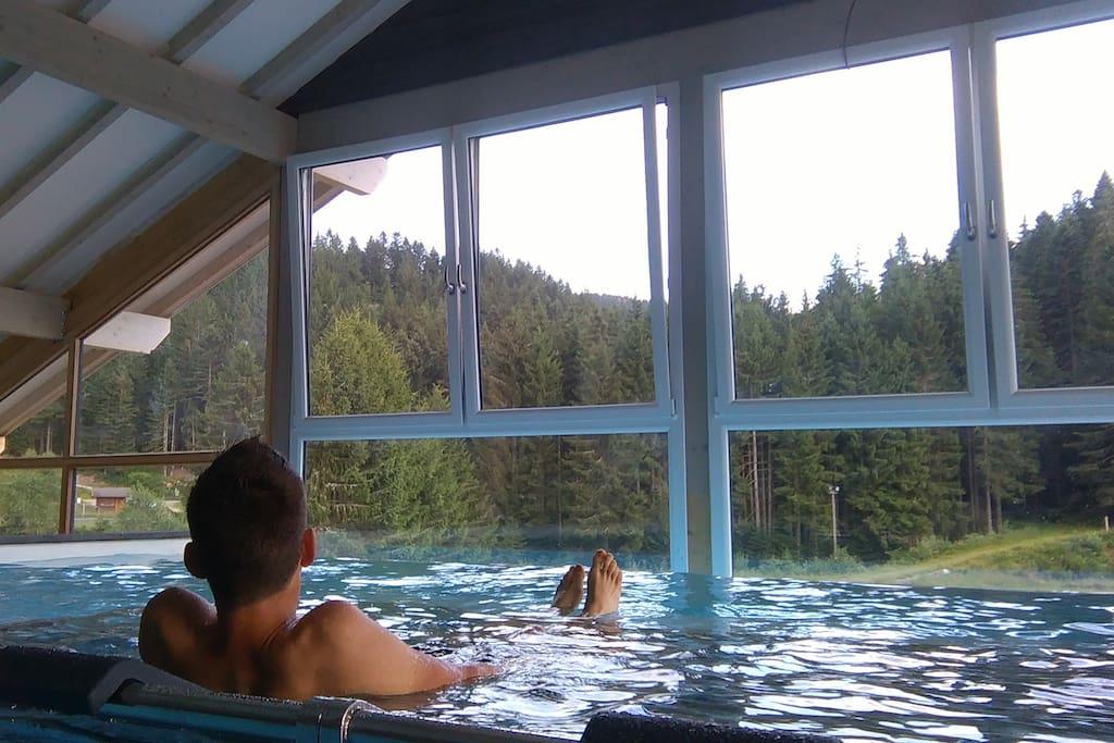 Apt 6 pers en pleine nature avec piscine bien tre - Residence avec piscine interieure ...