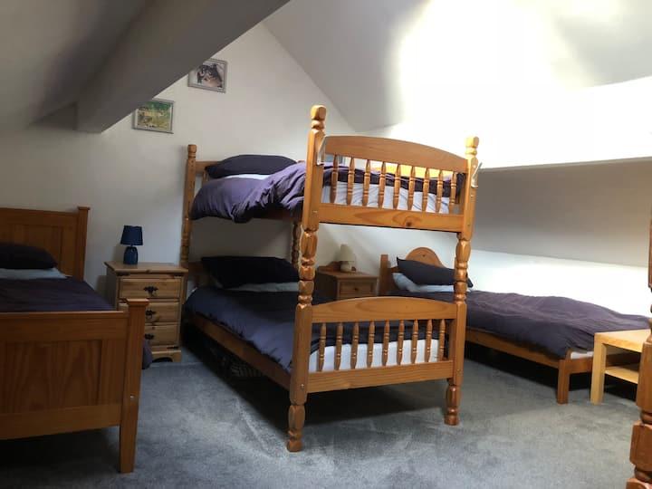 Marina House - Bunk room