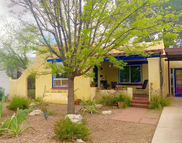 Enjoy a lazy morning sipping coffee on the front porch!  Park in the covered carport.  Professionally landscaped front yard.