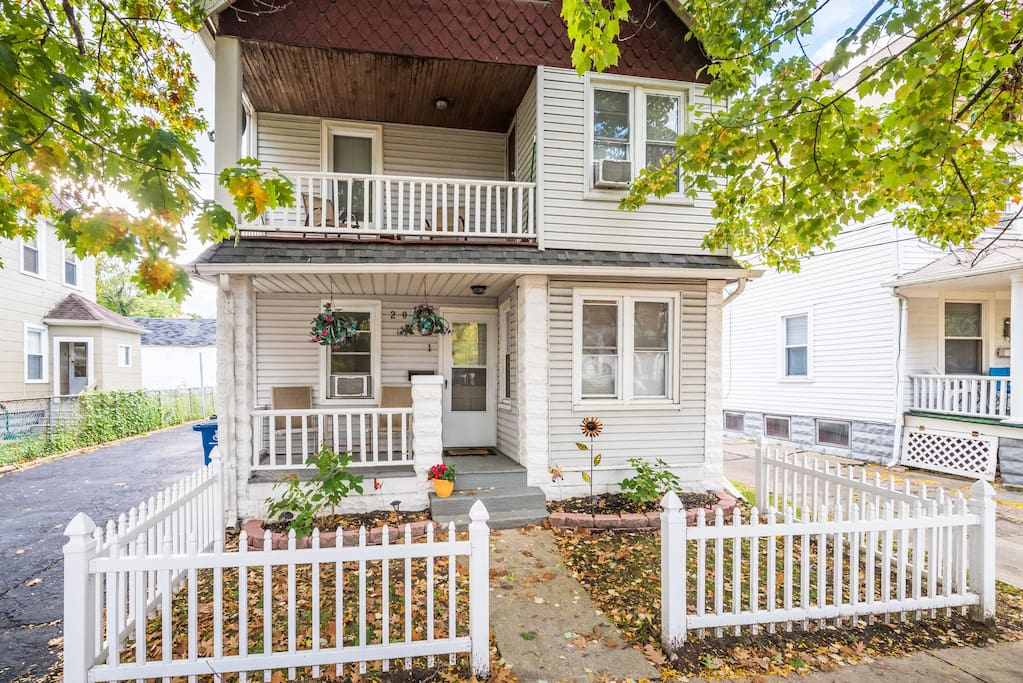 Recently renovated but still maintains its original charm