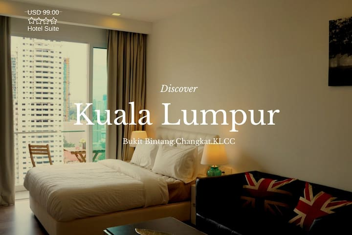 Luxry Suite With balcony in Bukit Bintang,KLCC #02 - กัวลาลัมเปอร์
