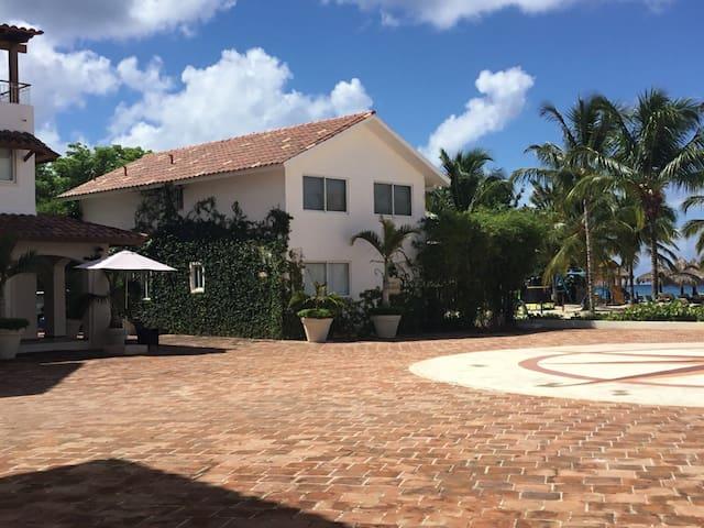 Beachfront home at Bayahibe