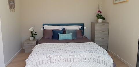 Chambre grand confort dans une propriété de charme