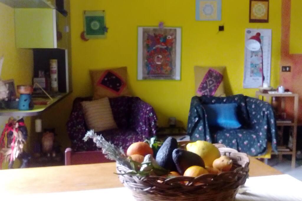Open-space soggiorno cucina