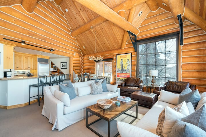 High-End, Custom-Designed Home Just Steps from the Mountain Village Core Offers a Truly Luxurious Mountain Getaway