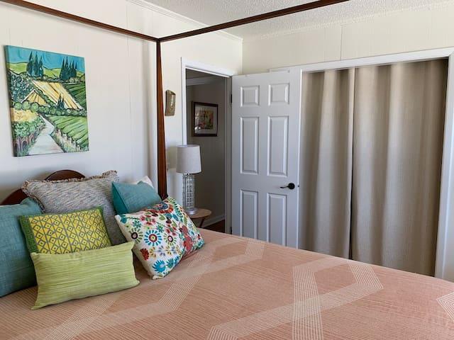 Fields Bedroom has a queen bed