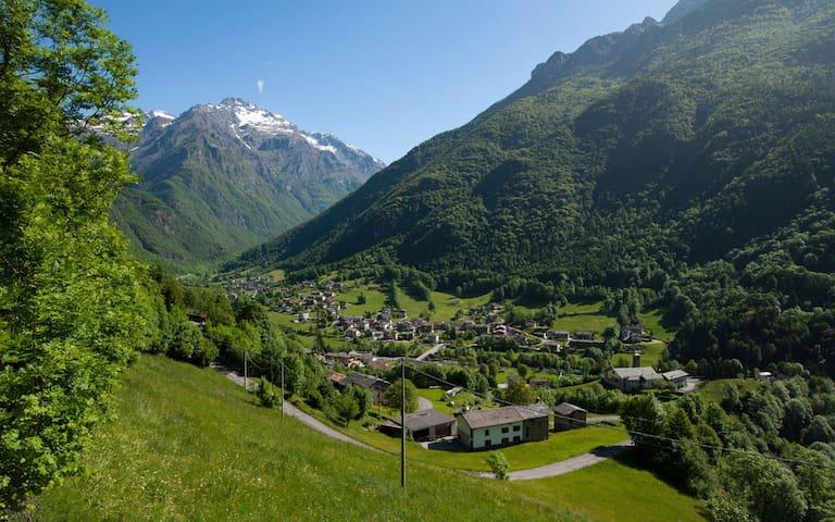 Relax e natura in alta montagna