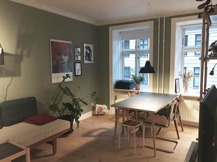 Very central flat located in urban Vesterbro