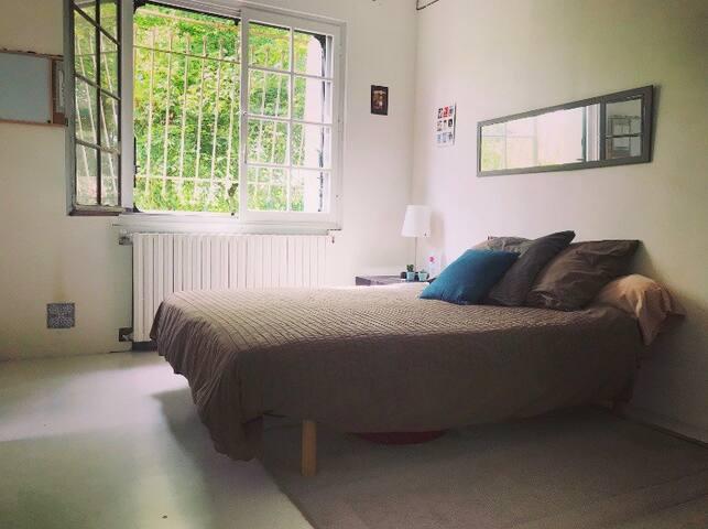 Chambre double sdb privée dans maison individuelle