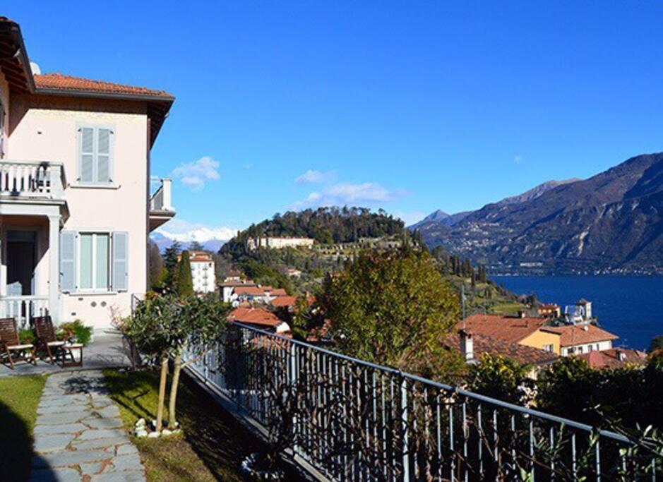 Appartamento vista lago e giardino appartamenti in for Appartamento lago milano