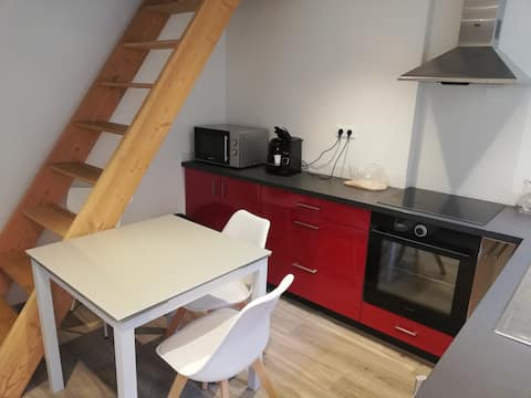 Apartment with balcony in Laguiole
