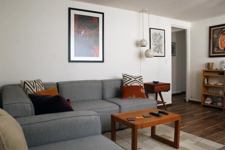 Comodísimo apartamento con sala-comedor y recámara