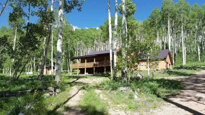Secluded mountain family cabin cabins for rent in brian for Cabin rentals vicino a brian head utah