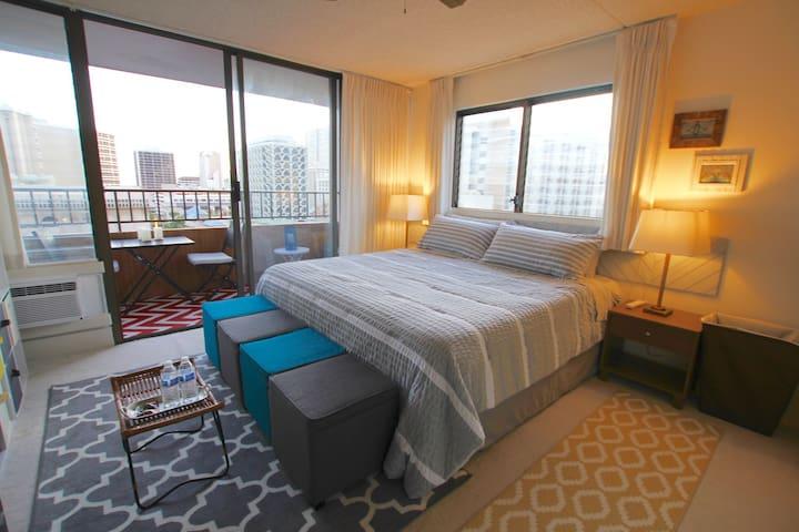 Waikiki Skyline - Honolulu - Appartement