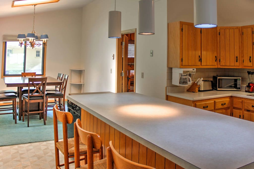 Inside the home, you'll find everything you need for a true home-away-from-home experience.