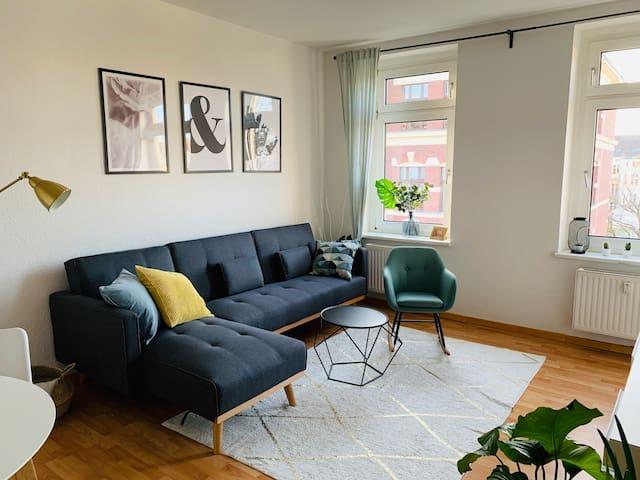Leipzig Gohlis: Happy Home mit Netflix & Nespresso