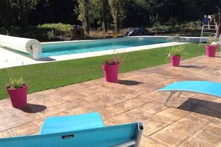 Maison avec piscine plein sud au calme. - Vertou - Hus