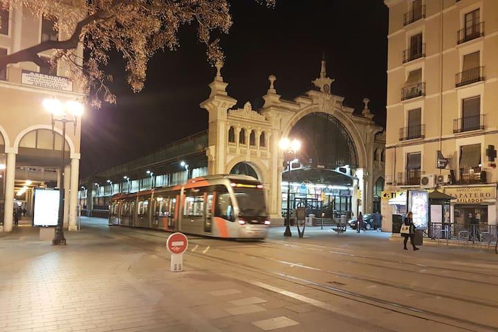 Nuevo Mercado /  Central Market de Zaragoza