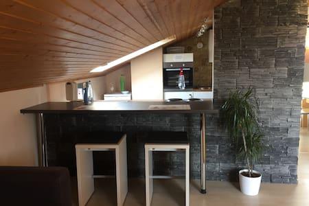 A8 Göppingen Hattenhofen 5+1 +WiFi - Apartamento