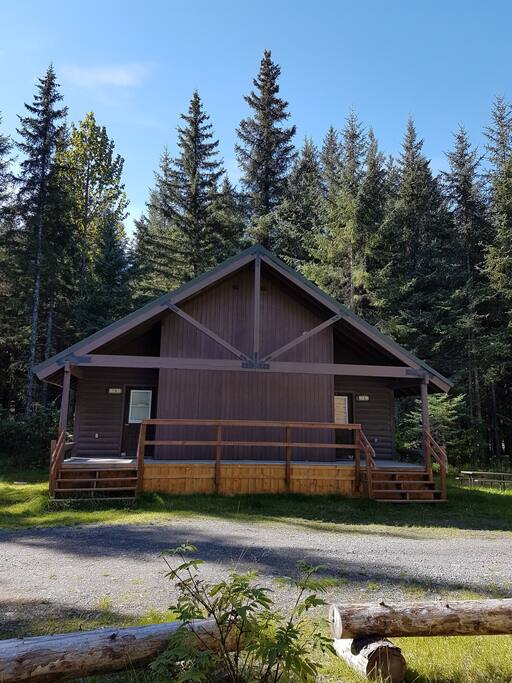 Duplex Cabin with Separate Entrances