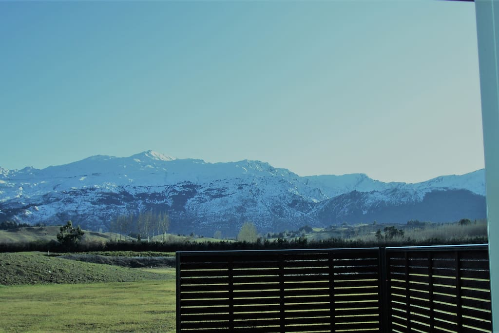 View of Coronet Peak from property