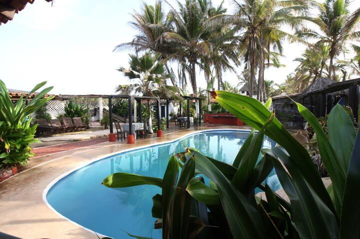 Hotel Privado con Playa y Piscina cerca Acapulco